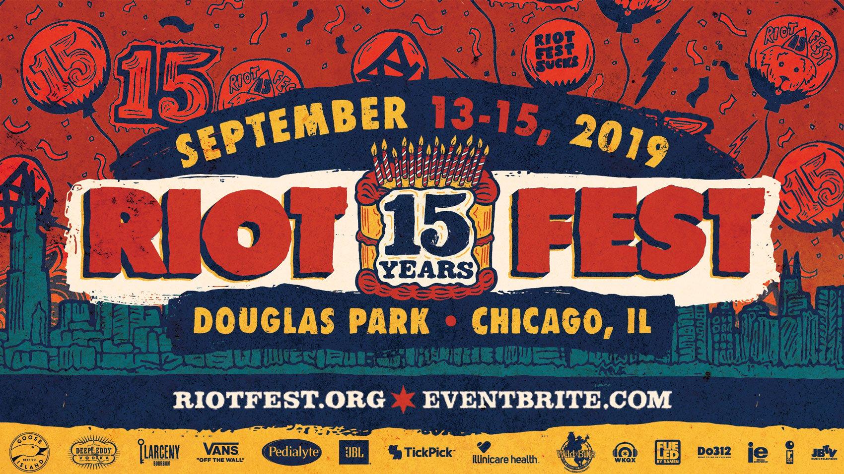 The 2019 Riot Fest Lineup
